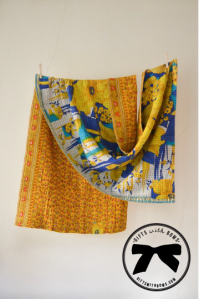 Hand & Cloth :: Cotton Kantha Throw :: $112 :: as featured on Gifts with Bows #giftswithbows #GWB