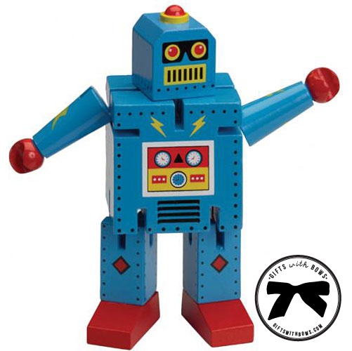 The Original Toy Company :: Robot X-7 :: $10 :: as featured on Gifts with Bows #giftswithbows #GWB