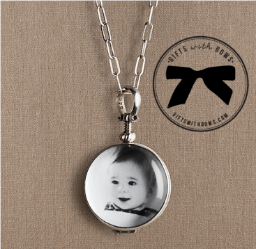Restoration Hardware Baby & Child :: Open Locket :: $160 :: as featured on Gifts with Bows #giftswithbows #GWB