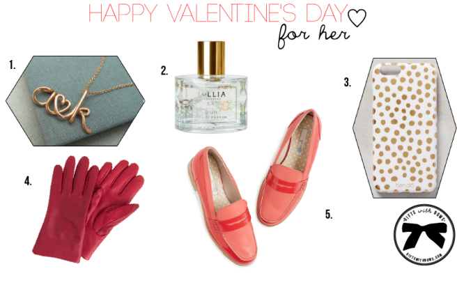 Valentine's Day for Her :: Gift List :: as featured on Gifts with Bows #giftswithbows #GWB