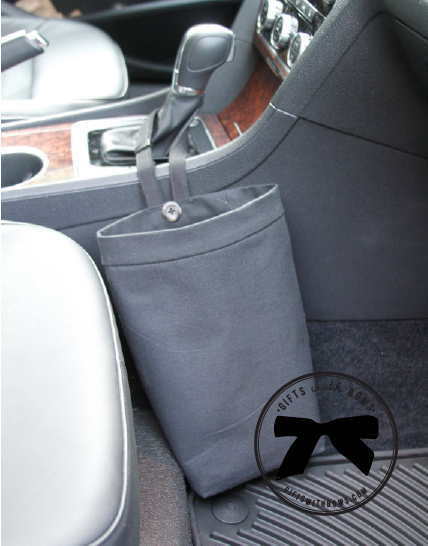 Green Goose :: Car Trash Bag :: $30 :: as featured on Gifts with Bows #giftswithbows #GWB
