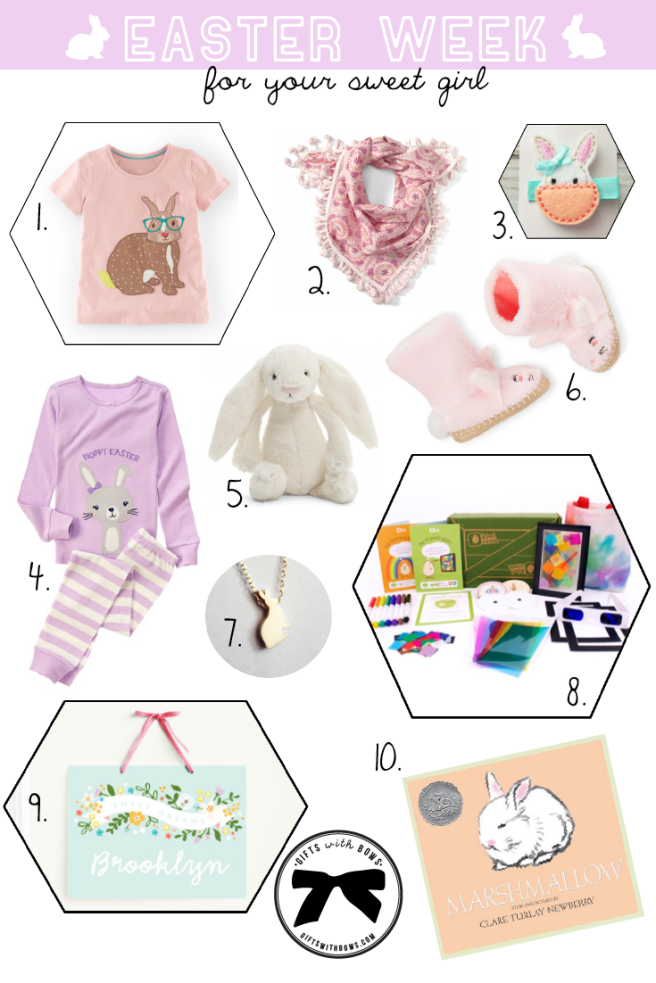 Easter Week :: For Your Sweet Girl :: as featured on Gifts with Bows #giftswithbows #GWB