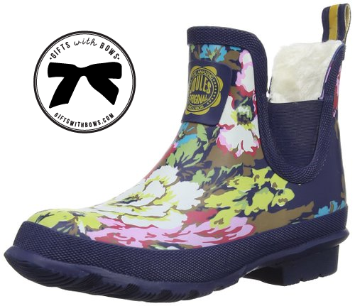 Joules :: Floral Wellibob :: $64.95 :: as featured on Gifts with Bows #giftswithbows #GWB