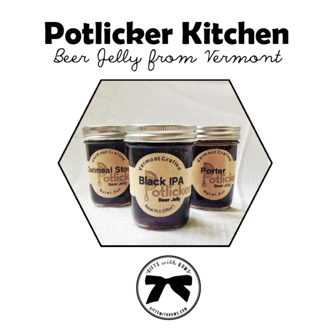 Potlicker :: Beer Jelly 3 Pack :: $21 :: as featured on Gifts with Bows #giftswithbows #GWB