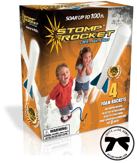 Stomp Rocket :: 3-5 Year Olds :: $11.99 :: as featured on Gifts with Bows #giftswithbows #GWB
