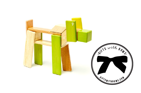 Tegu :: 22 Piece Block Set :: $60 :: as featured on Gifts with Bows #giftswithbows #GWB