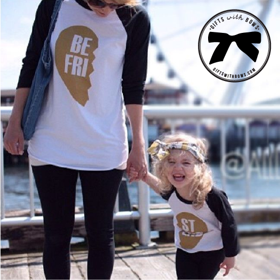 Indie Nook :: Bestfriends Tee :: $25 :: as featured on Gifts with Bows #giftswithbows #GWB