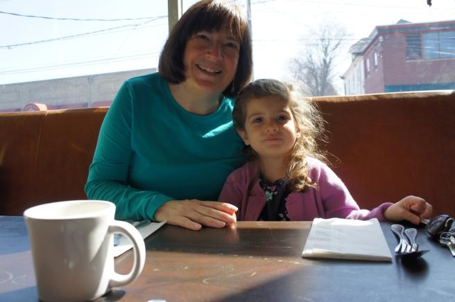 Zoe with Gigi at Alto Cinco