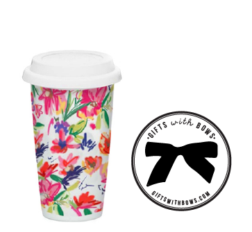 Ashely Brooke Designs :: Travel Mug :: $24 :: as featured on Gifts with Bows #giftswithbows #GWB