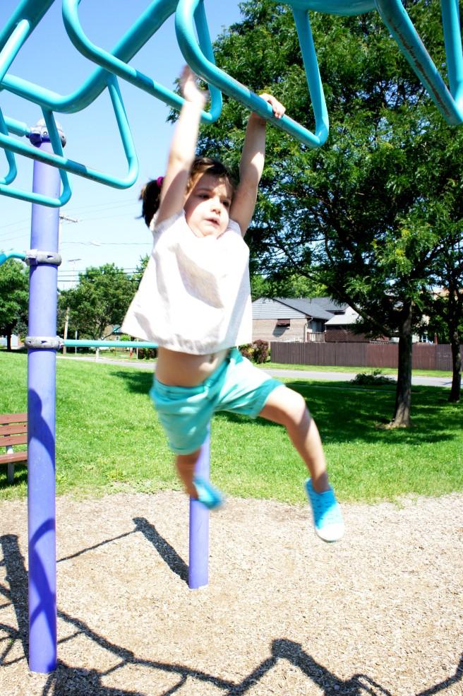 July 2015- Zoe at the Park
